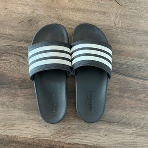 NWOT Adidas slip-on sandal